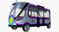 smart minibus bus 3D model