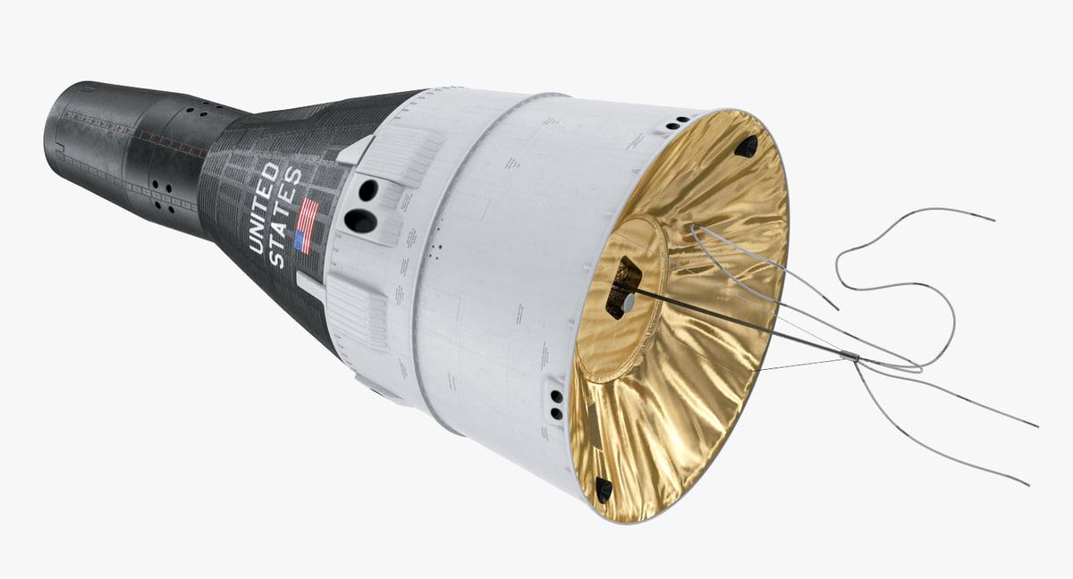 gemini spacecraft model