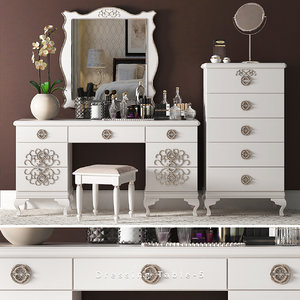 dressing table 6 3D