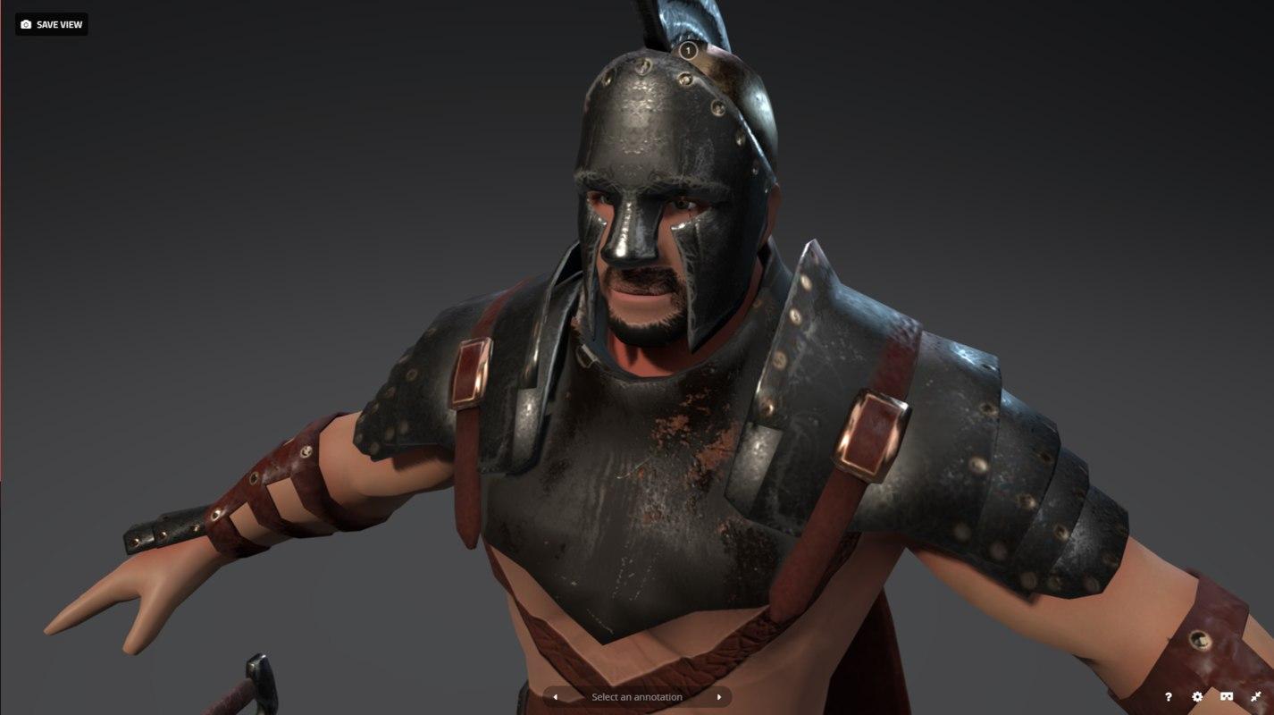 3D rome warriors