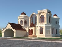 3D russian house