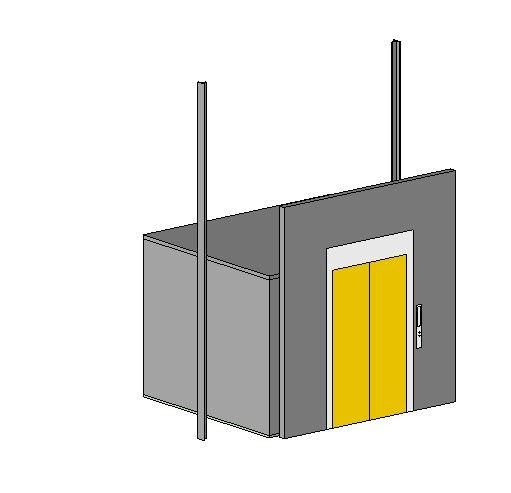 elevator parameter 3D model