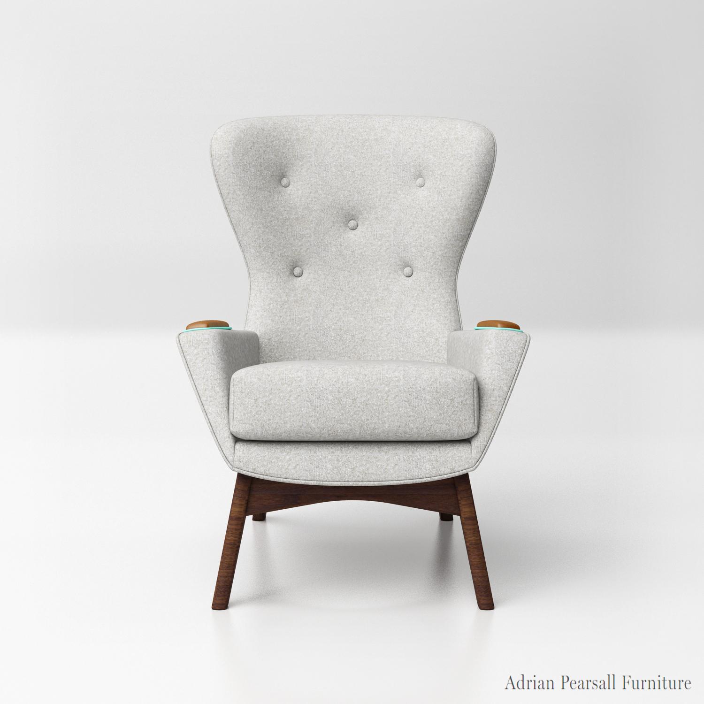 Craft Ociates Wingback Chairs