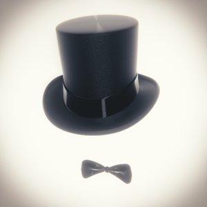 hat bow tie model