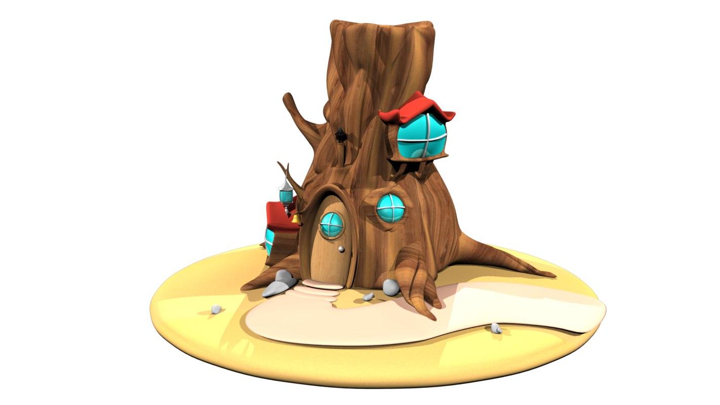 tree house 3D
