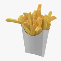 fries box 01 3D