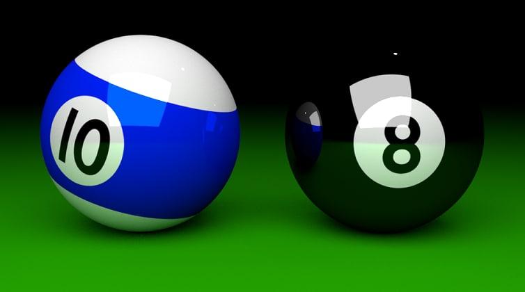 pool balls model