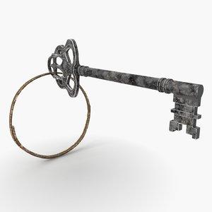 key close 3D model