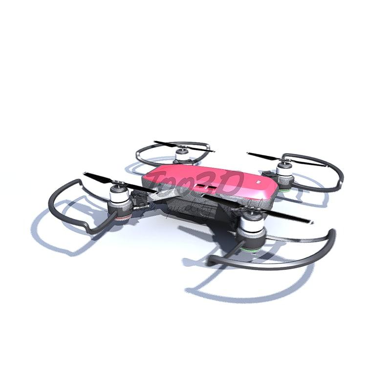 3D model spark drone