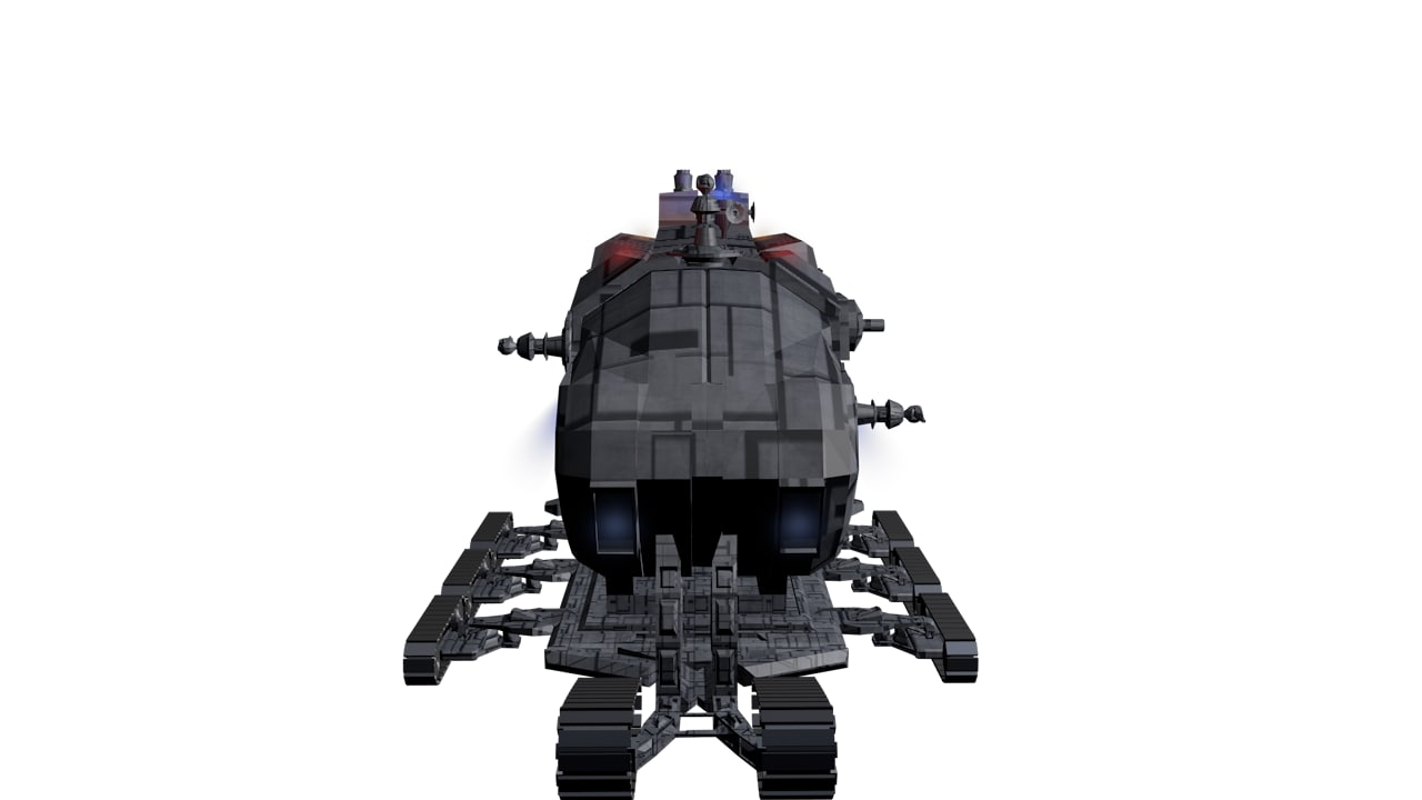 space tank 3D model