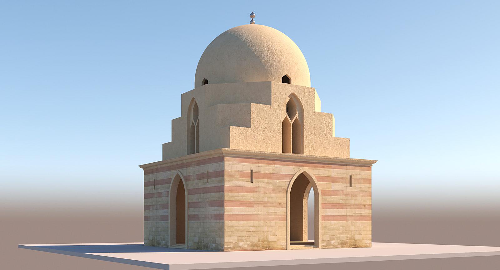 3D building islamic