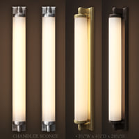 3D chandler sconce