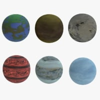Alien Planets Collection