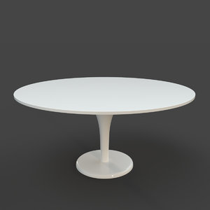 3D form dining table