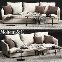 3D molteni c sloane sofa model