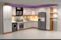 3D modern kitchen