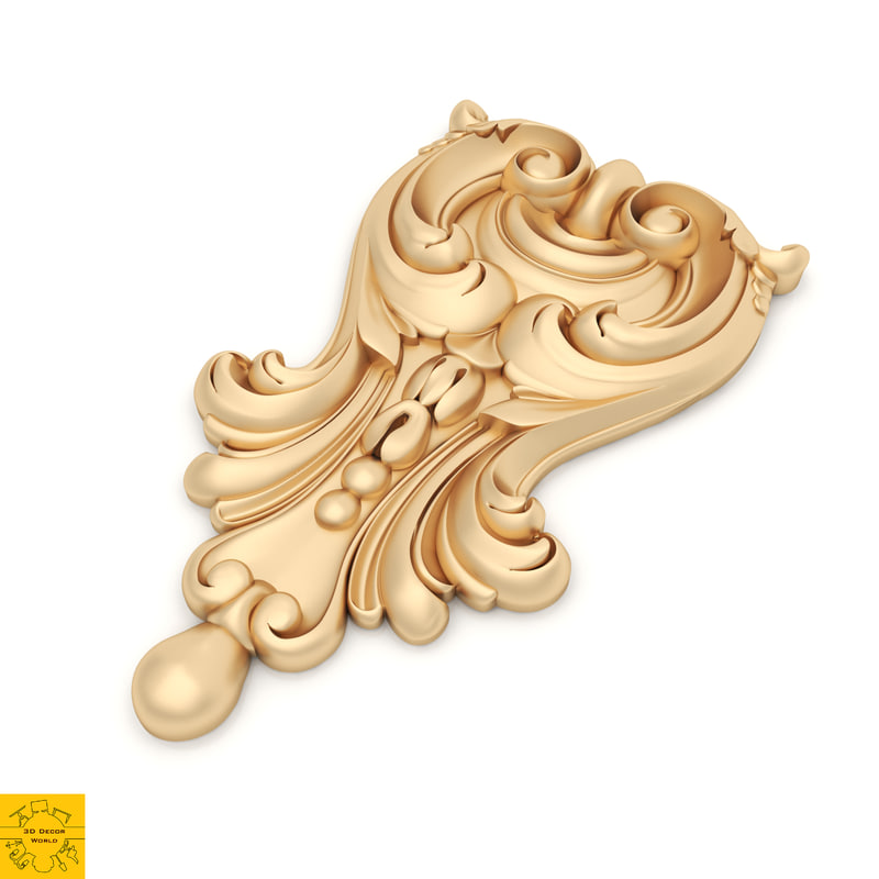 ornament 1 decor 3D model