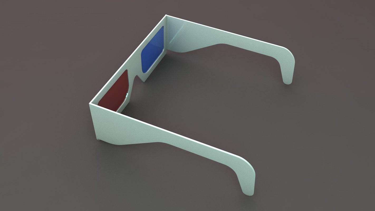 3D stereoscopic glass lens