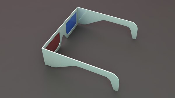 3D stereoscopic glass lens