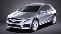 Mercedes-Benz GLA AMG 2015 VRAY