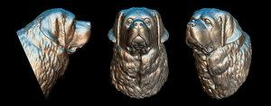 saint bernard 3D