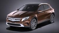 Mercedes Benz GLA 2015 VRAY