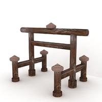 shinmei torii 3D