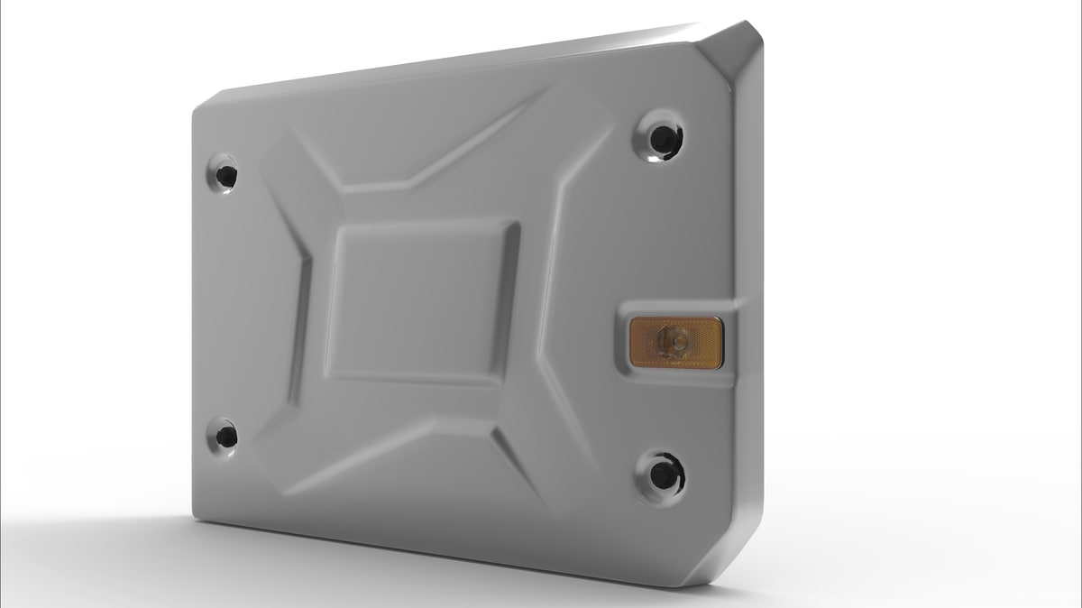 3D model renault range catalyst