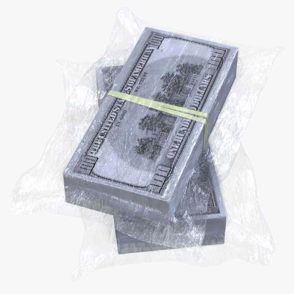 wrapped stack dollar$ 3D