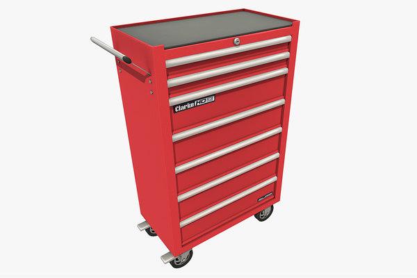 toolchest toolbox 3D model