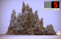 moon mountains hd 3D