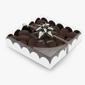 gift box chocolat eggs model