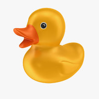 rubber duck 3D model