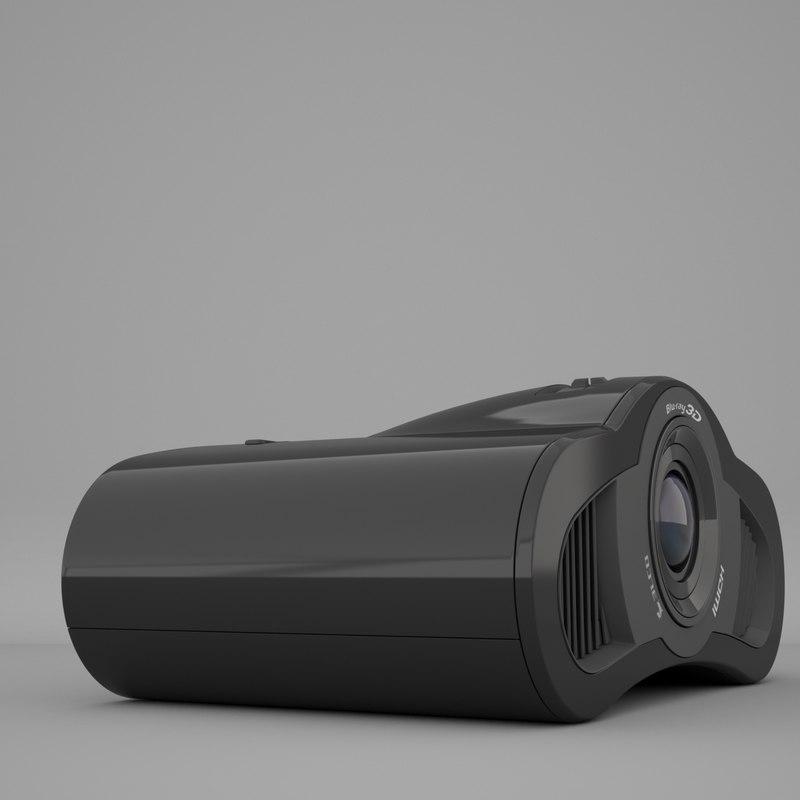 3D projector design model