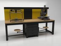 3D worktable table work
