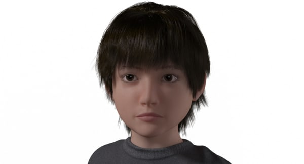 lucas realistic child model