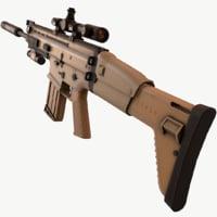 3D scar h model