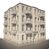 tenement house 3D