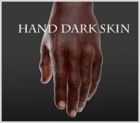 Hand Dark Skin