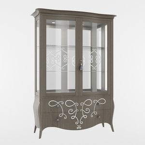 seven sedie cupboard 3D model