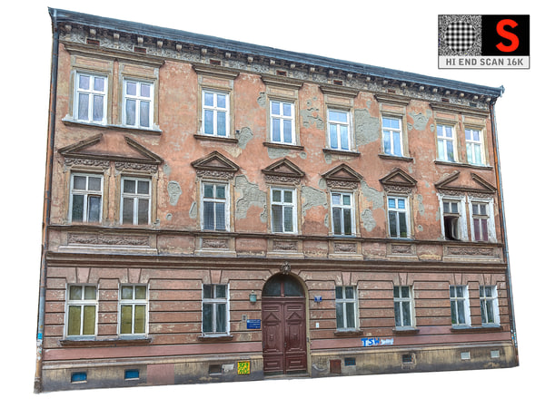 facade street abandoned model
