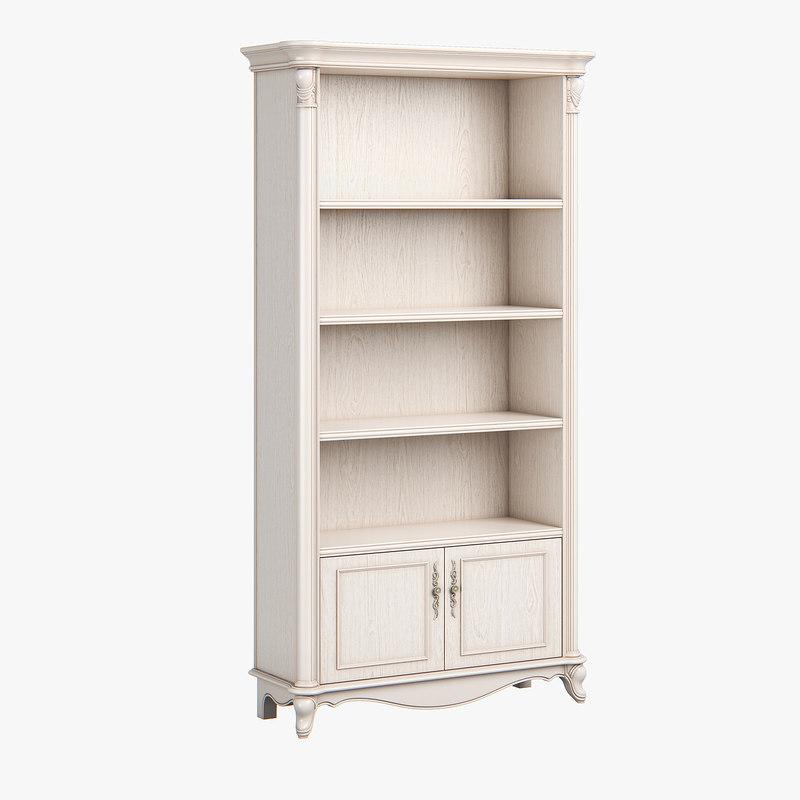 2519400 230 carpenter bookshelf 3D