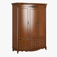 2609000 230-1 carpenter wardrobe 3D model