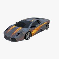 3D model lamborghini reventon
