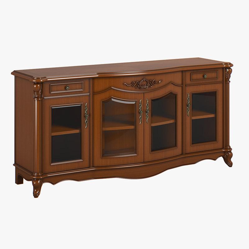 2610100 230-1 carpenter buffet 3D