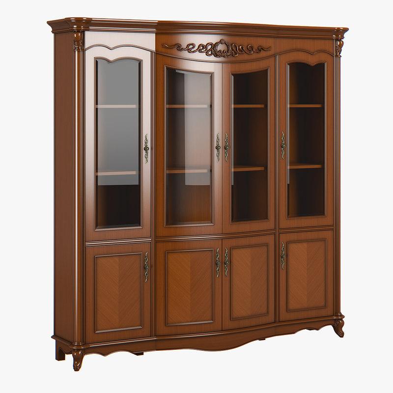 3D model 2617000 230-1 carpenter bookshelf