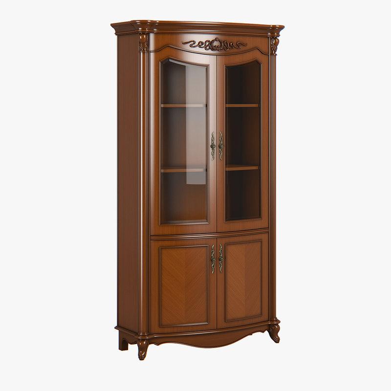 2619200 230-1 carpenter bookcase 3D