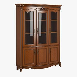 2619300 230-1 carpenter bookcase 3D model
