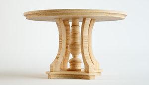 3D model dantone home dining table