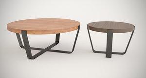 occasional table ceccotti 3D model
